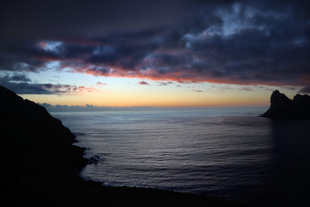 Sunset Chapmans Peak Drive