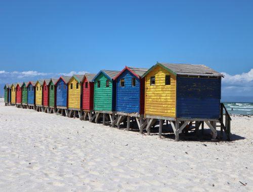 Muizenberg Rainbow Beach Huts