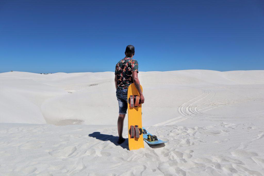 Atlantis Dunes Sandboarding