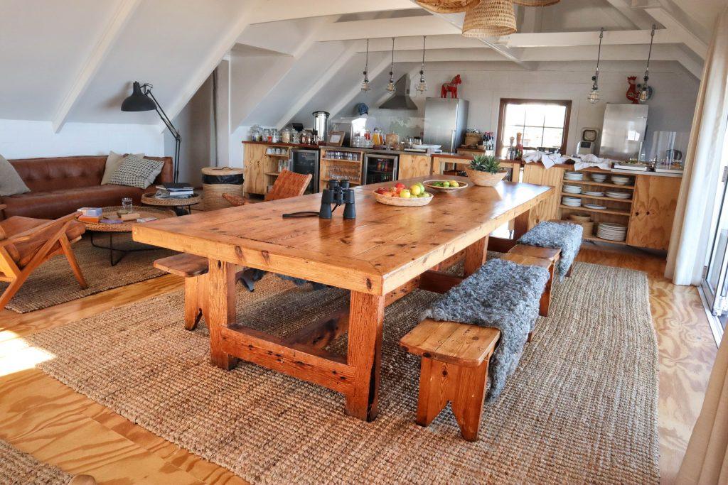 Gonana Guest House Breakfast Table