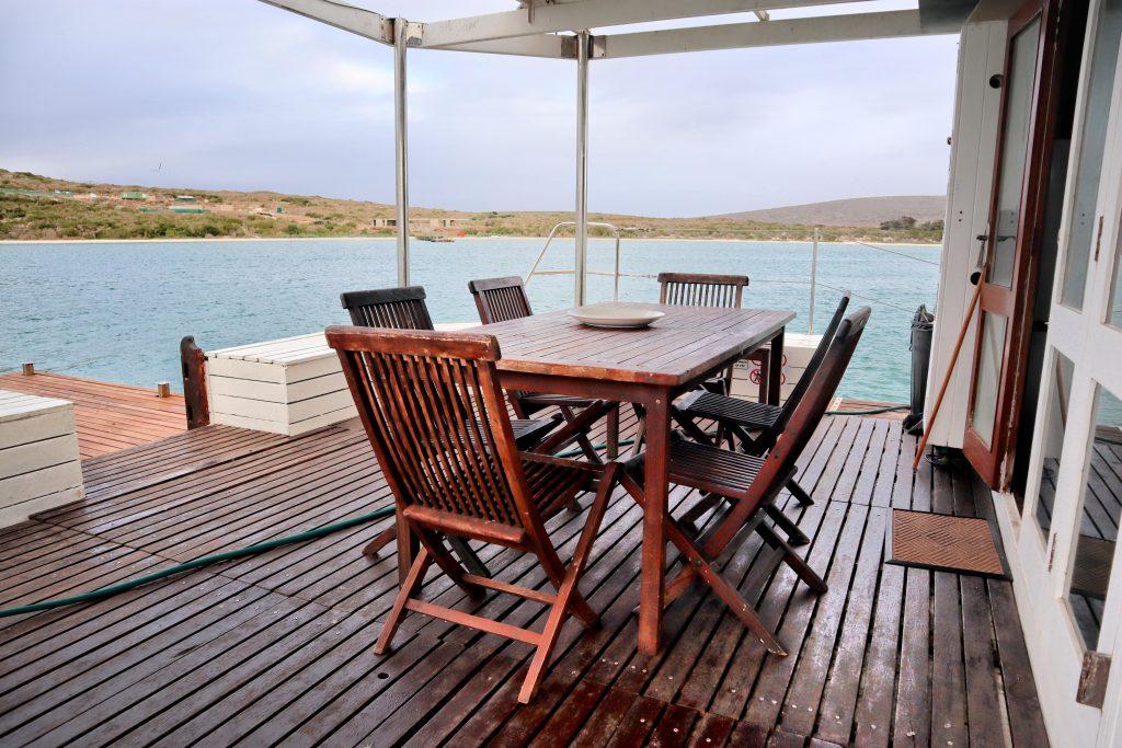 Kraalbaai Luxury Houseboats The Larus Swim Deck
